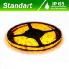 Світлодіодна стрічка 12В B-LED 3528-60 IP65 жовтий