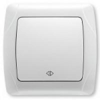 VIKO CARMEN Перехресний вимикач  (білий/крем)