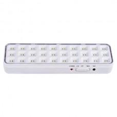 Аварійний світлодіодний світильник евросвет SFT-LED-30-01 акумуляторний