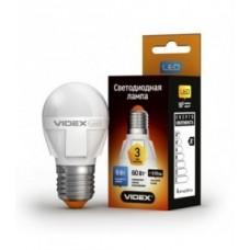 Cвітлодіодна лампа LED VIDEX 6W E27 4100K 220V