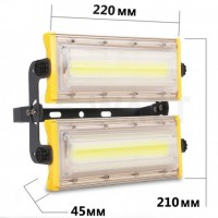 Прожектор світлодіодний 100W ALPRO 11000lm