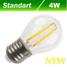 Світлодіодна лампа  Filament 4W E27 3000К BIOM FL-301