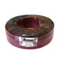 Акустичний кабель 2x0.75 CCA червоно-чорний