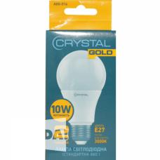 Cвітлодіодна лампа LED Crystal Gold А60 10W E27 3000K