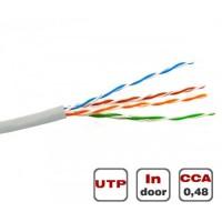 Вита пара UTP Cat.5E 4PR CCA 0.48 PVC Dialan