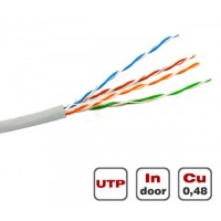 Вита пара UTP Cat.5E 4PR CU (100 МГц) PVC Dialan