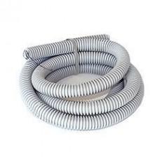 Труба гофрована ПВХ 40мм з протяжкою сіра