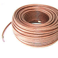 Коаксіальний кабель RG6U 48W CCS 1.02мм 48% 75 ОМ сілікон