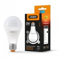 Cвітлодіодна лампа LED VIDEX A65eD3 15W E27 4100K трьохрежимна