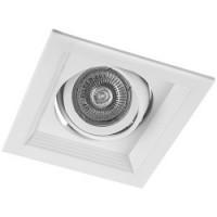 Світильник карданий Feron DLT201 MR16/G5.3 білий поворотний