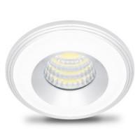 Світлодіодний світильник Feron LN003 COB 3W алюміній, білий-серебро коло 4000K