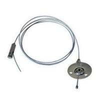 Тросова підвіска Feron LD1002 для шинопровіда 150 см (2 шт./уп.)