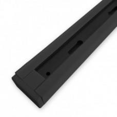 Шинопровід однофазний Feron CAB1100 для трекових світильників, чорний 2м