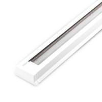 Шинопровід однофазний Feron CAB1000 для трекових світильників, білий 1м