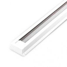 Шинопровід однофазний Feron CAB1000 для трекових світильників, білий 2м
