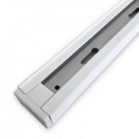 Шинопровід однофазний Feron CAB1100 для трекових світильників, білий 1м
