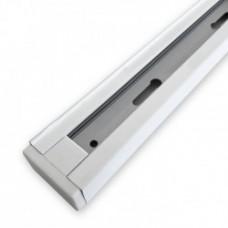 Шинопровід однофазний Feron CAB1100 для трекових світильників, білий 3м