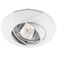 Вбудований світильник Feron DL6021 MR16/G5.3 /білий поворотний