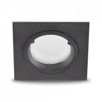 Вбудований світильник Feron DL6300 MR16/GU5.3 алюміній, чорний