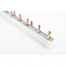 шина сполучна типу PIN 3х-фазна 80А (12 авт)