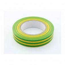Ізоляційна стрічка ПВХ 21 м жовто-зелена
