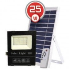Світлодіодний (LED) прожектор VARGO 25W на сонячній батареї з пультом VS-045