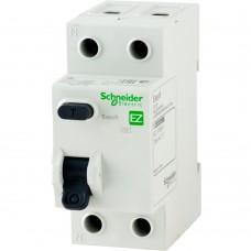 Диференціальне реле SCHNEIDER EZ9 2P 25A 30mA AC EZ9R34225