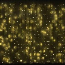 Гірлянда зовнішня Delux Curtain 912LED 2x3m жовта / чорний IP44 (90009059)