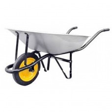 Тачка садова одноколісна 80л 180кг лите колесо Budmonster