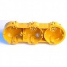 Підрозетник РК-64/3L  гіпс kopos