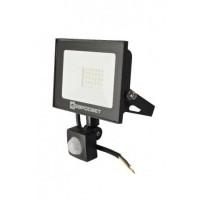 Прожектор світлодіодний евросвет 20Вт з датчиком руху EV-20-504D 6400К