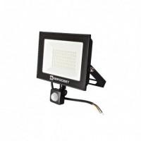 Прожектор світлодіодний евросвет 50Вт з датчиком руху EV-50-504D 6400К