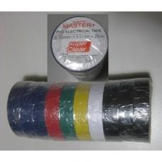Ізоляційна стрічка ПВХ 50м кольорова