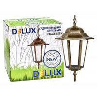 Світильник садово-парковий Delux PALACE A005 60Вт Е27 чорний-золото