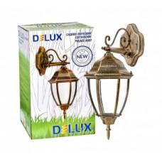 Світильник садово-парковий Delux PALACE A007 60W E27 чорний-золото