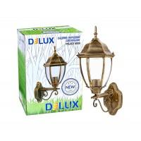 Світильник садово-парковий Delux PALACE A008 60W E27 чорний-золото