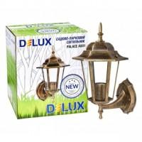 Світильник садово-парковий Delux PALACE A001 60Вт Е27 чорний-золото