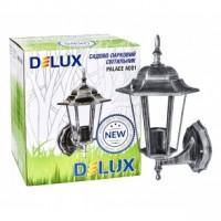 Світильник садово-парковий Delux PALACE A001 60W E27 чорний-срібло