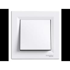 Вимикач перекл. 1 кл. SCHNEIDER ASFORA EPH0400121 білий