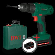 Акумуляторний шуруповерт DWT ABS-18 SLI-2 BMC-N