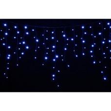Гірлянда зовнішня DELUX ICICLE 120LED 2x0.9m синя / чорний IP44 EN - (90009071)