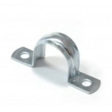 Скоба металева двостороння D32