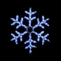 Гірлянда зовнішня DELUX MOTIF Snowflake 0,55м flash білий IP 44 EN