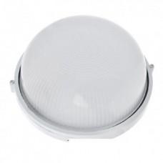 Світильник настінний евросвет WOL-10 60Вт Е27 коло білий IP65
