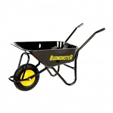 Тачка будівельна 1-колісна 80 л, 200 кг Budmonster