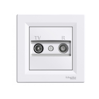 Розетка SCHNEIDER ASFORA EPH3300121 TV-R кінцева (1 дБ) біла