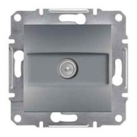 Розетка SCHNEIDER ASFORA EPH3200162 TV кінцева (1 дБ) сталь