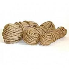 Мотузки лляні d8 50м