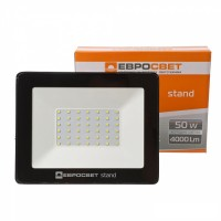 Прожектор світлодіодний 50Вт 6400К EV-50-504 STAND 4000Лм