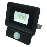 Прожектор світлодіодний 10W 950lm S4-SMD-10-Slim 6500К 220V IP65 BIOM з датчиком руху